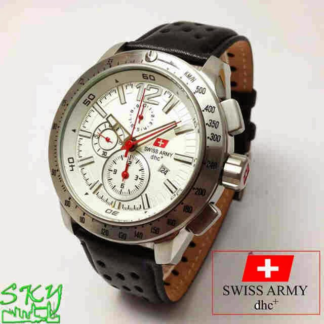 Swiss Army SA 2076 SS Original putih