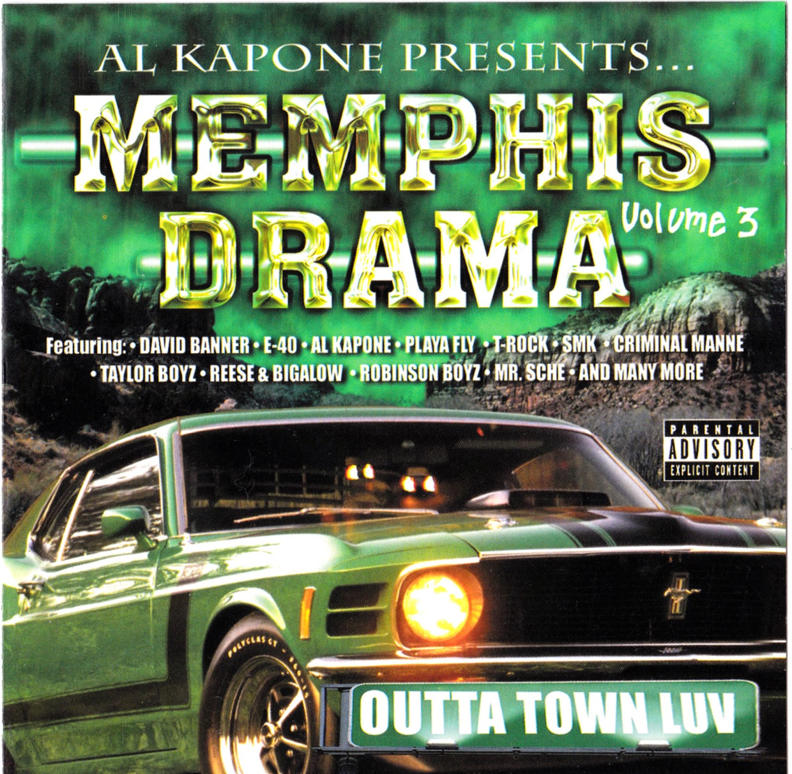 Al Kapone presents Memphis Drama Vol. 3.