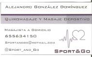 SPORT&GO MASAJE DEPORTIVO