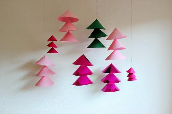 Ideas diy decorar tu casa es - Decoracion navidad papel ...