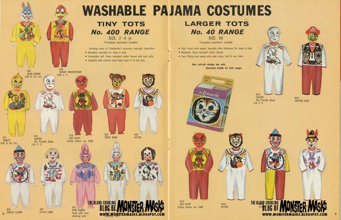 1967 Collegeville Costumes Catalog  sc 1 st  Blood Curdling Blog of Monster Masks & 1967 Collegeville Costumes Catalog | Blood Curdling Blog of Monster ...