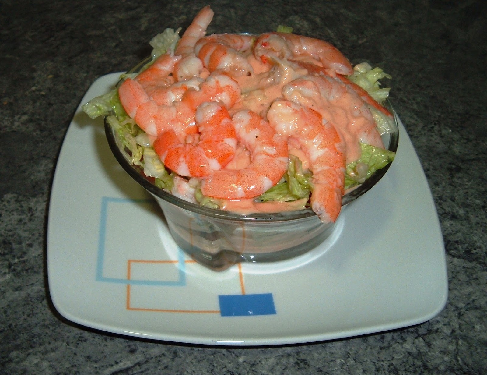 C ctel de marisco las recetas de isa - Coctel de marisco ingredientes ...