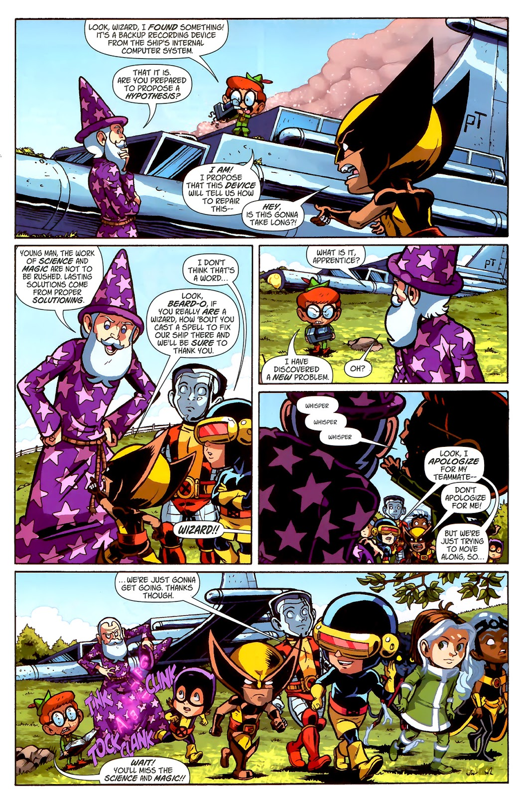 Read online X-Babies comic -  Issue #2 - 15