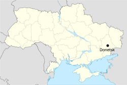 donetsk map france base camp euro 2012 ukraine
