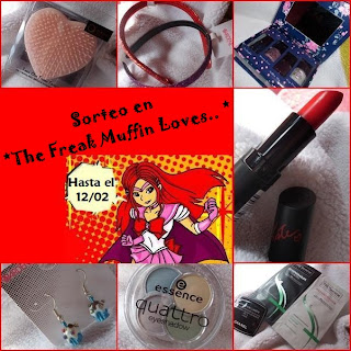"Sorteo en ""The Freak Muffin Loves"""