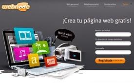 hacer web gratis: