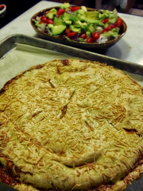 Pizza Pie Just out of the oven
