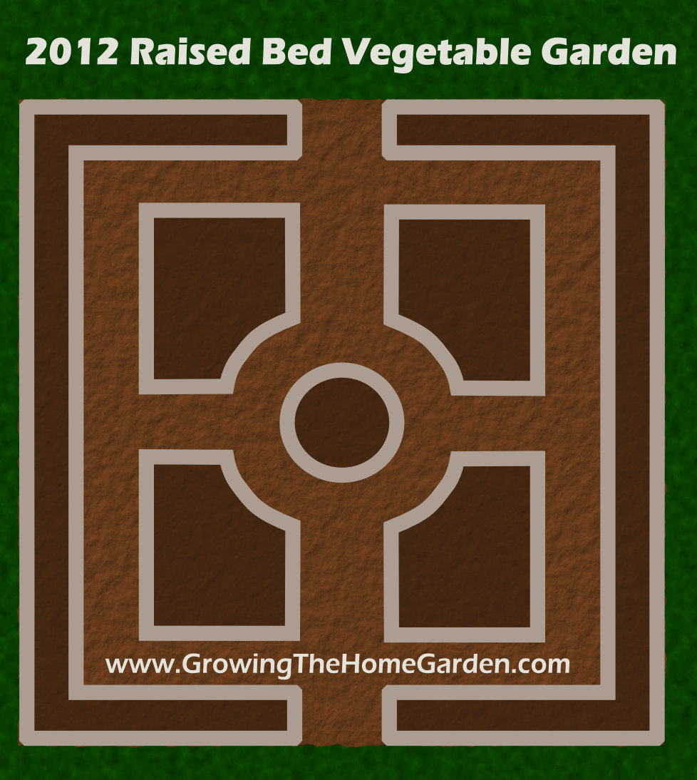 Vegetable Garden Layout for 2012 Growing The Home Garden