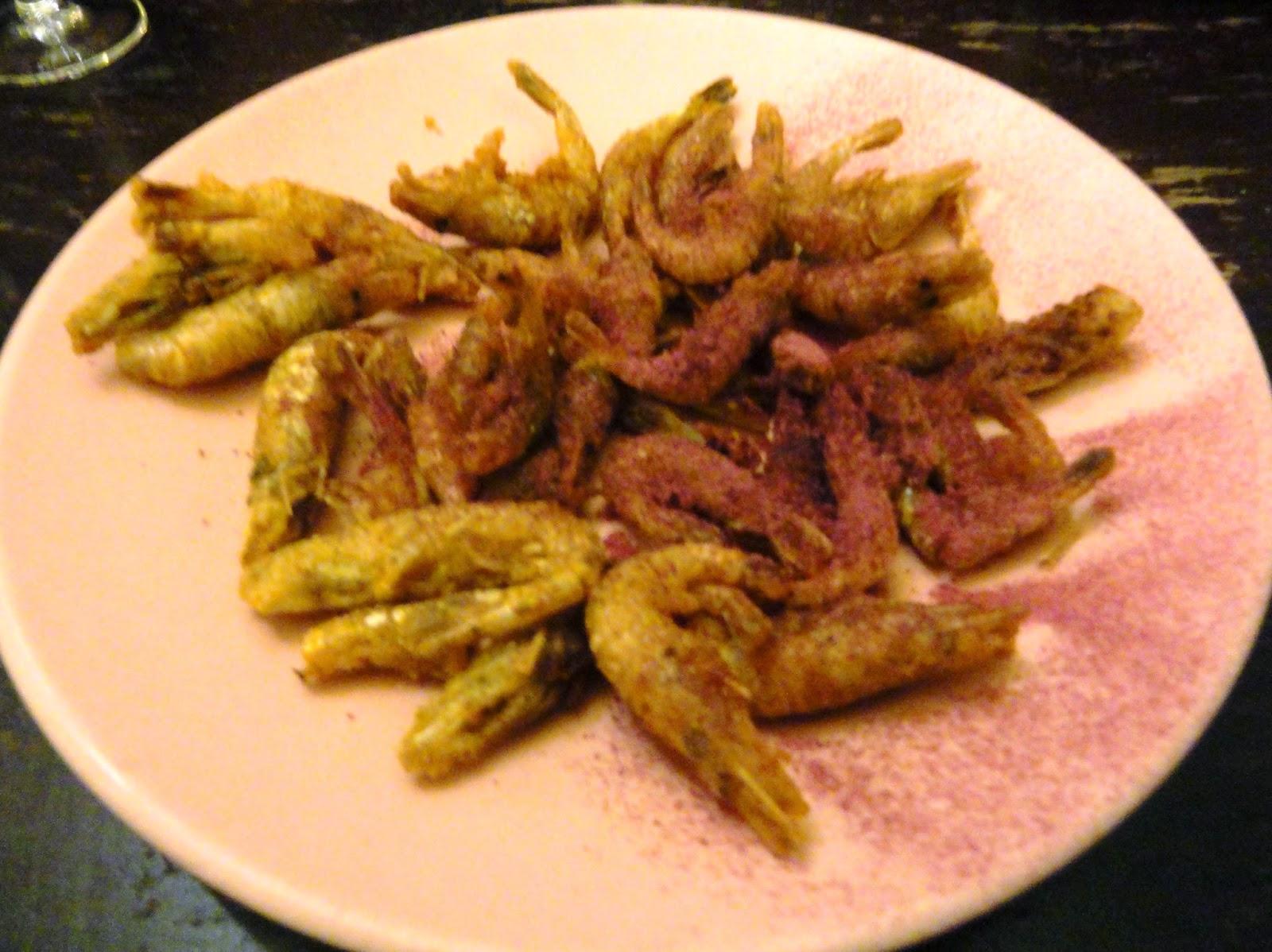 Blu aubergine restaurant review le chateaubriand paris for Freds fish fry menu