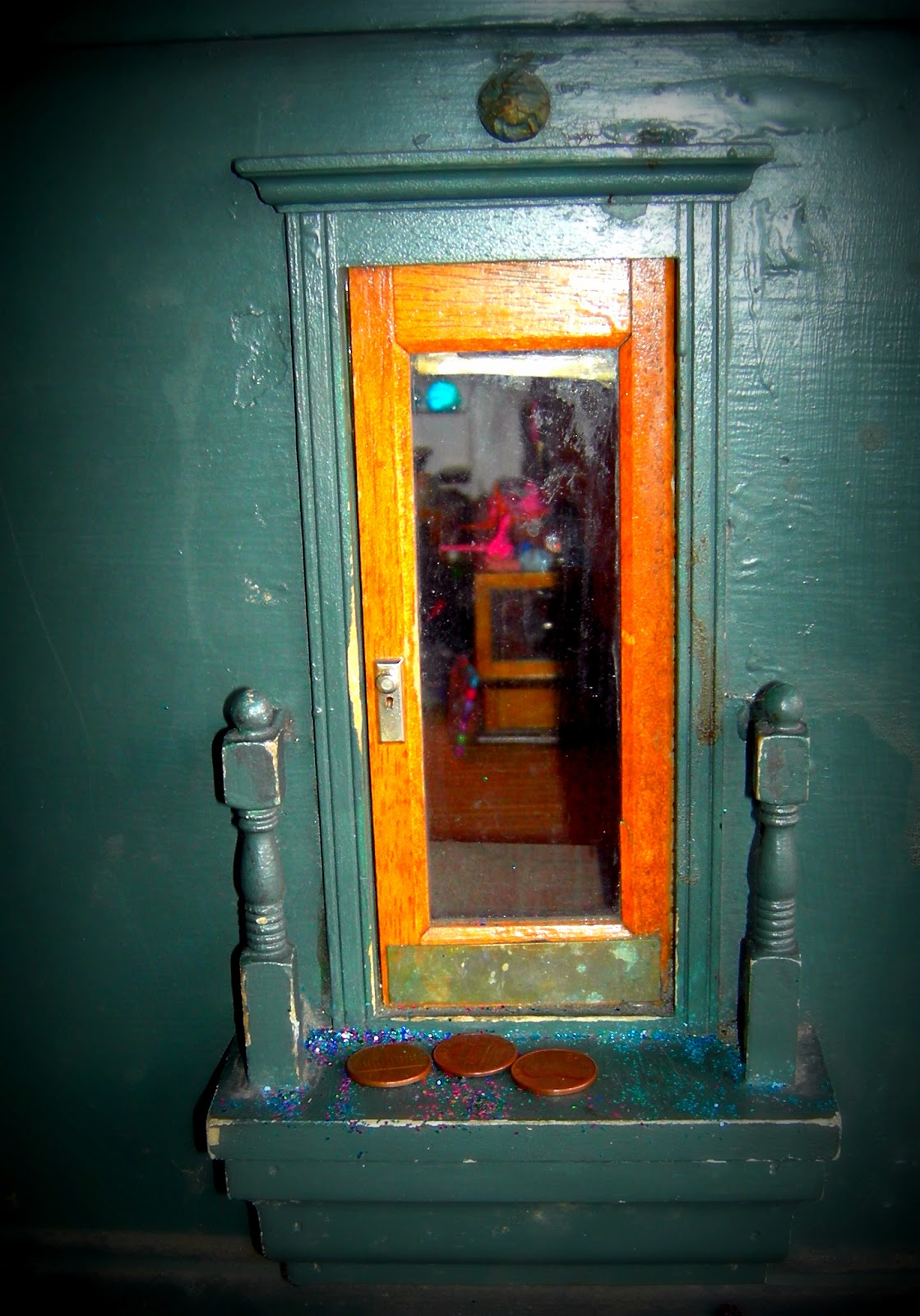 Retro kimmer 39 s blog the urban fairy doors of ann arbor for The works fairy door