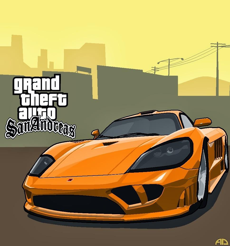 SeleOfficialART: Grand Theft Auto San Andreas Fan Art