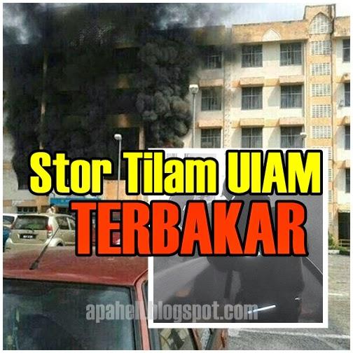 Stor Tilam Asrama di UIAM Terbakar (7 Gambar)