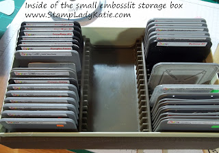 Stampin'UP! Die Storage Boxes
