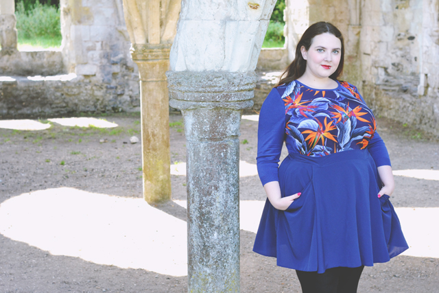Plus size outfit for autumn