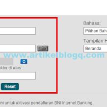 Cara Beli Pulsa Lewat Internet Banking BNI