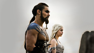 Khal Drogo with Daenery Targaryen Game of Thrones HD Wallpaper