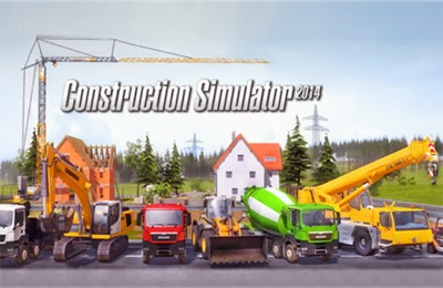 Construction Simulator 2014 v1.1 Apk + Data Full [Atualizado / All Devices]