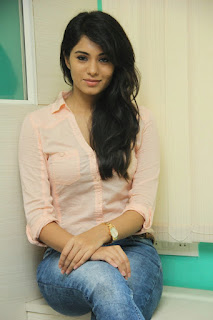 Deepa Sannidhi Pictures in Jeans at Yatchan Team Interview ~ Bollywood and South Indian Cinema Actress Exclusive Picture Galleries