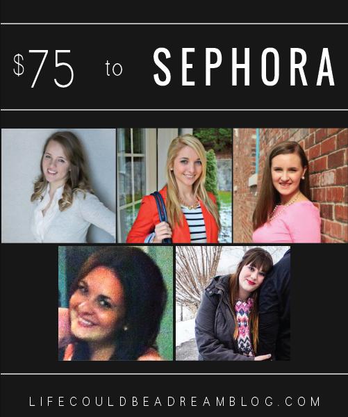 Giveaway, Sephora, Makeup, bloggers, free