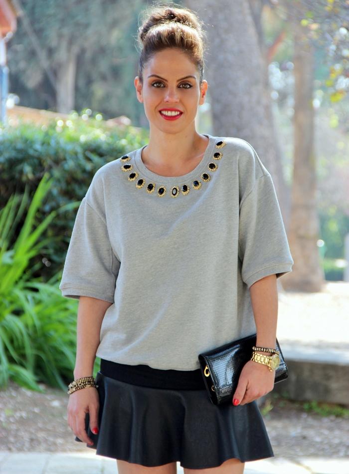 בלוג אופנה Vered'Style שחור אפור וזהב