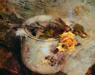 Czeslaw Milosz (Pintura: Childe Hassam )