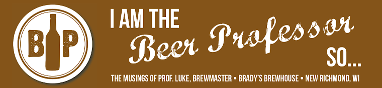 I'm The Beer Professor so...