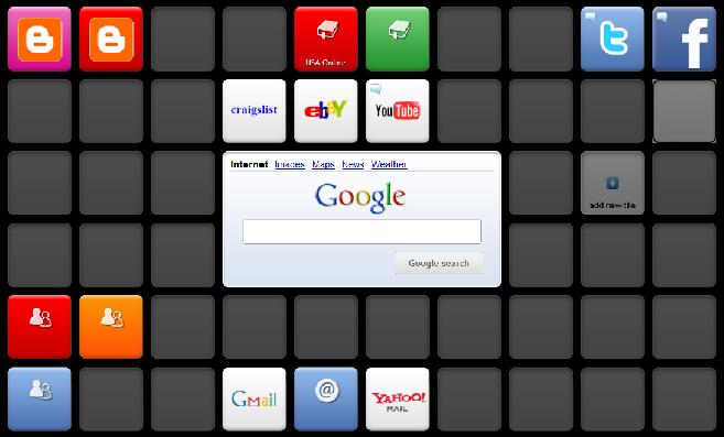 picture of my symbaloo
