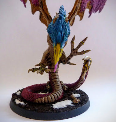 Chaos Cockatrice for Age of Sigmar