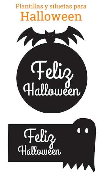 Plantillas Hallowen para imprimir