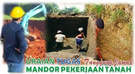 Tugas Mandor Pekejaan Tanah