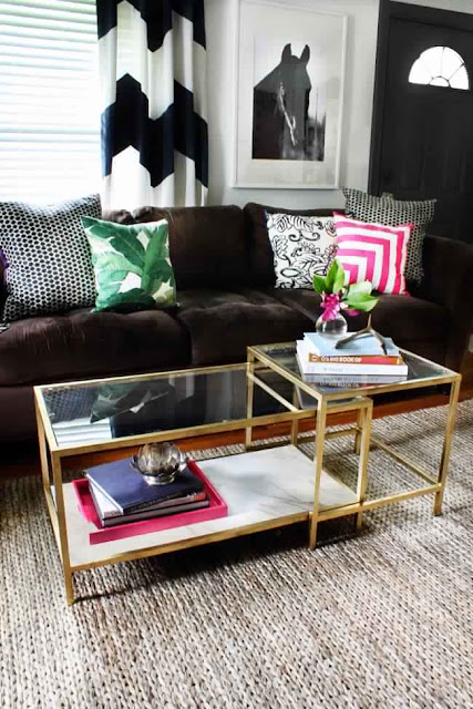 10 IKEA Hacks Using Gold Spray Paint