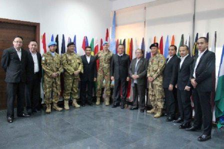 Menteri Pertahanan RI Kunjungi Kontingen Garuda Unifil di Lebanon Selatan