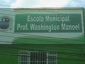 ESSA É A ESCOLA WASHINGTON MANOEL