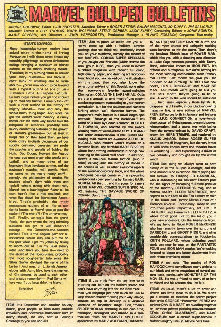 Conan the Barbarian (1970) Issue #84 #96 - English 19