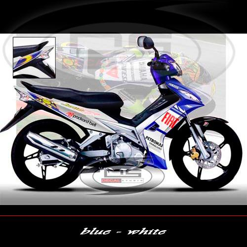 Jual Striping Motor Modifikasi Yamaha Jupiter