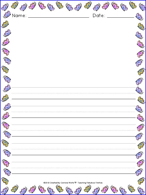 custom writing paper for kids This is a multi-functional worksheet generator, it can be used as the following: foreign language (esl) home address family members names and pets.