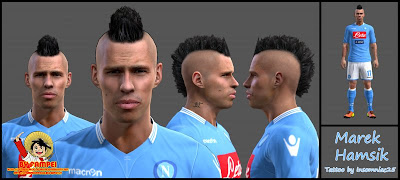 Marek Hamsik Face by fampei