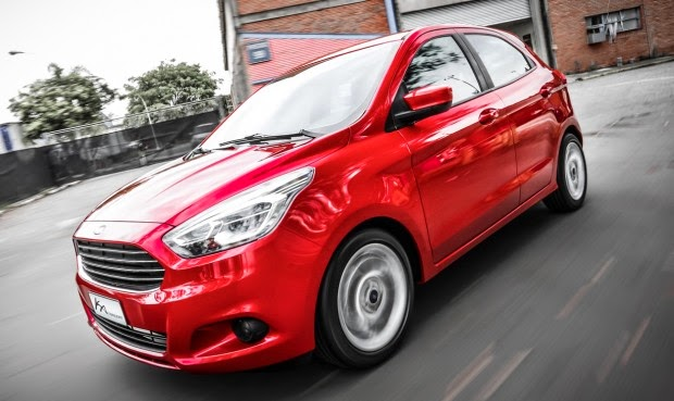 Novo Ford Ka 2014 2015 fotos hatch