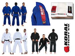 jujitsu judo gi koral