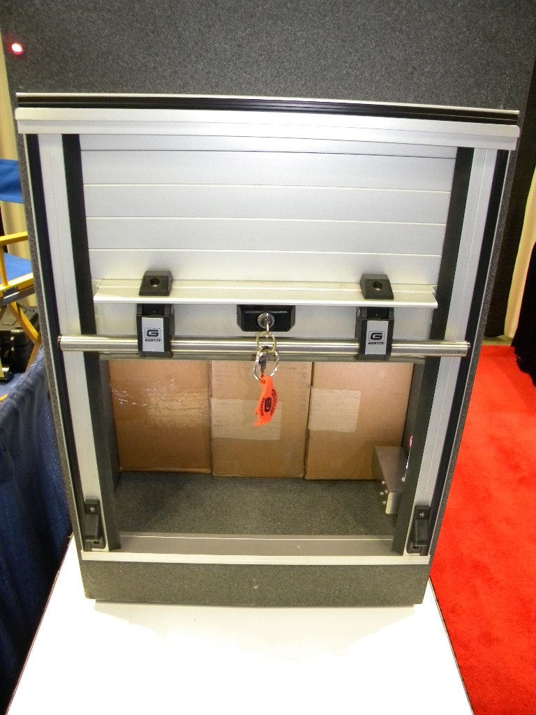 Gortite roll-up covers and doors at the 2011 NTEA Work Truck Show in Indianappolis. Here is some information from their website at //. gortite.com/ : gortite doors - pezcame.com