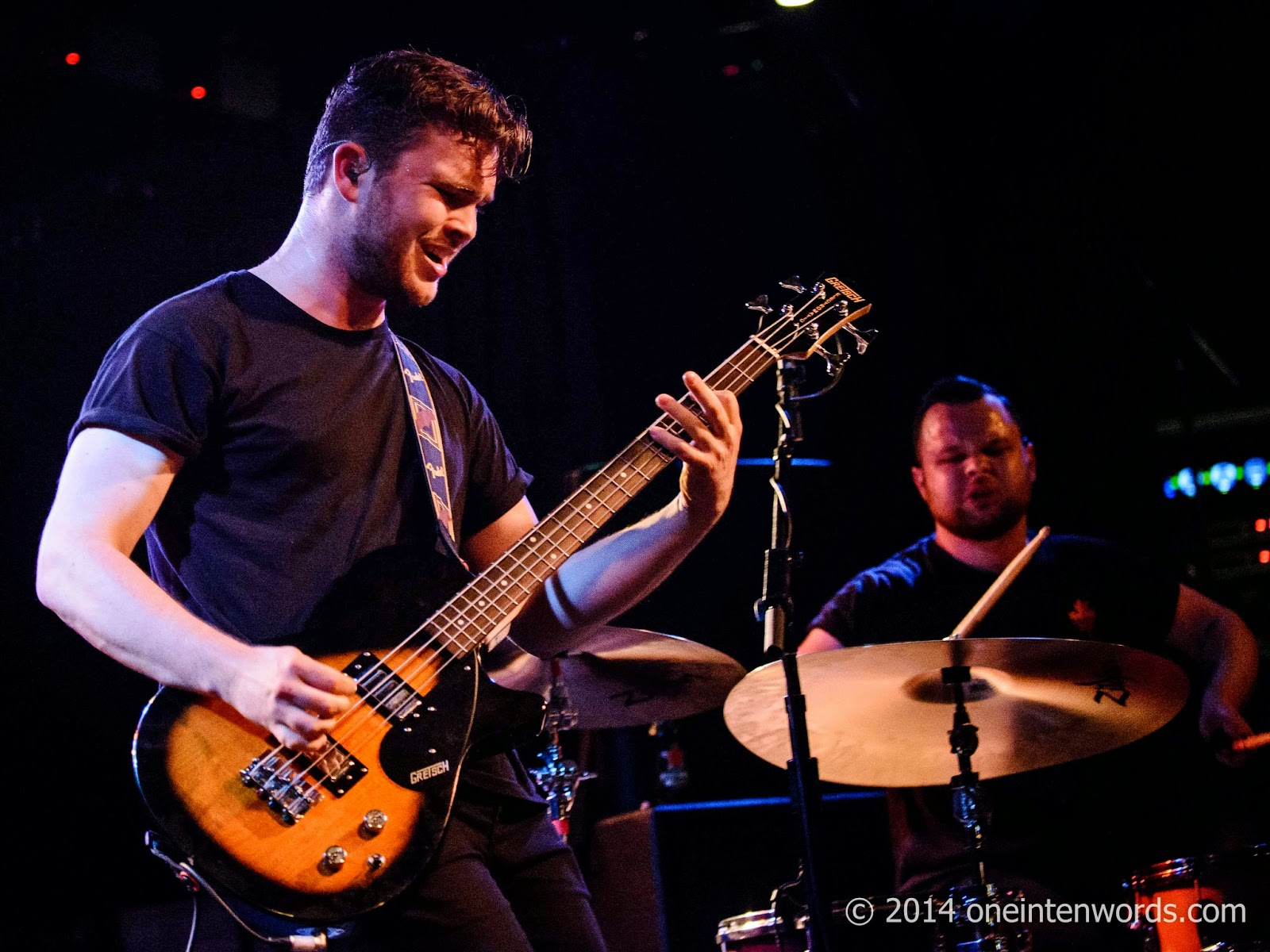 Royal Blood at Lee's Palace in Toronto October 14, 2014 Photo by John at One In Ten Words oneintenwords.com toronto indie alternative music blog concert photography pictures