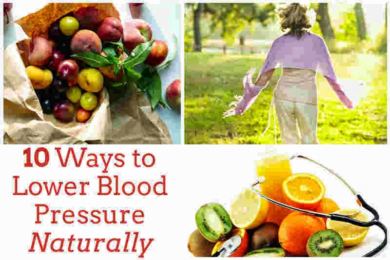 10 Ways to Lower Blood Pressure Naturally