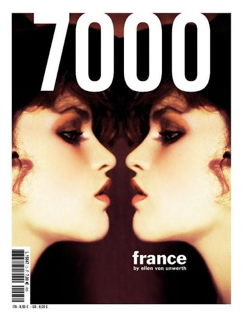 7000 Magazine Spring 2013 Cover by Ellen von Unwerth
