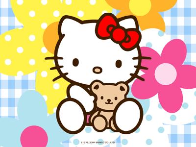 Hello Kitty Pink IPad Wallpaper