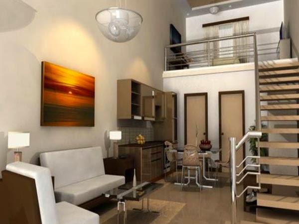 Desain interior apartemen type studio modern terbaru mei for Interior design styles condominium