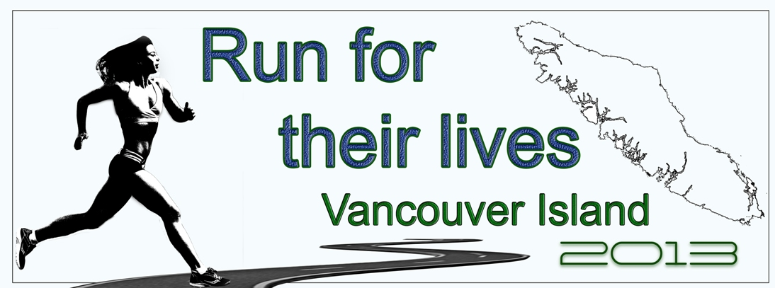 Run For Their Lives Vancouver Island 2013