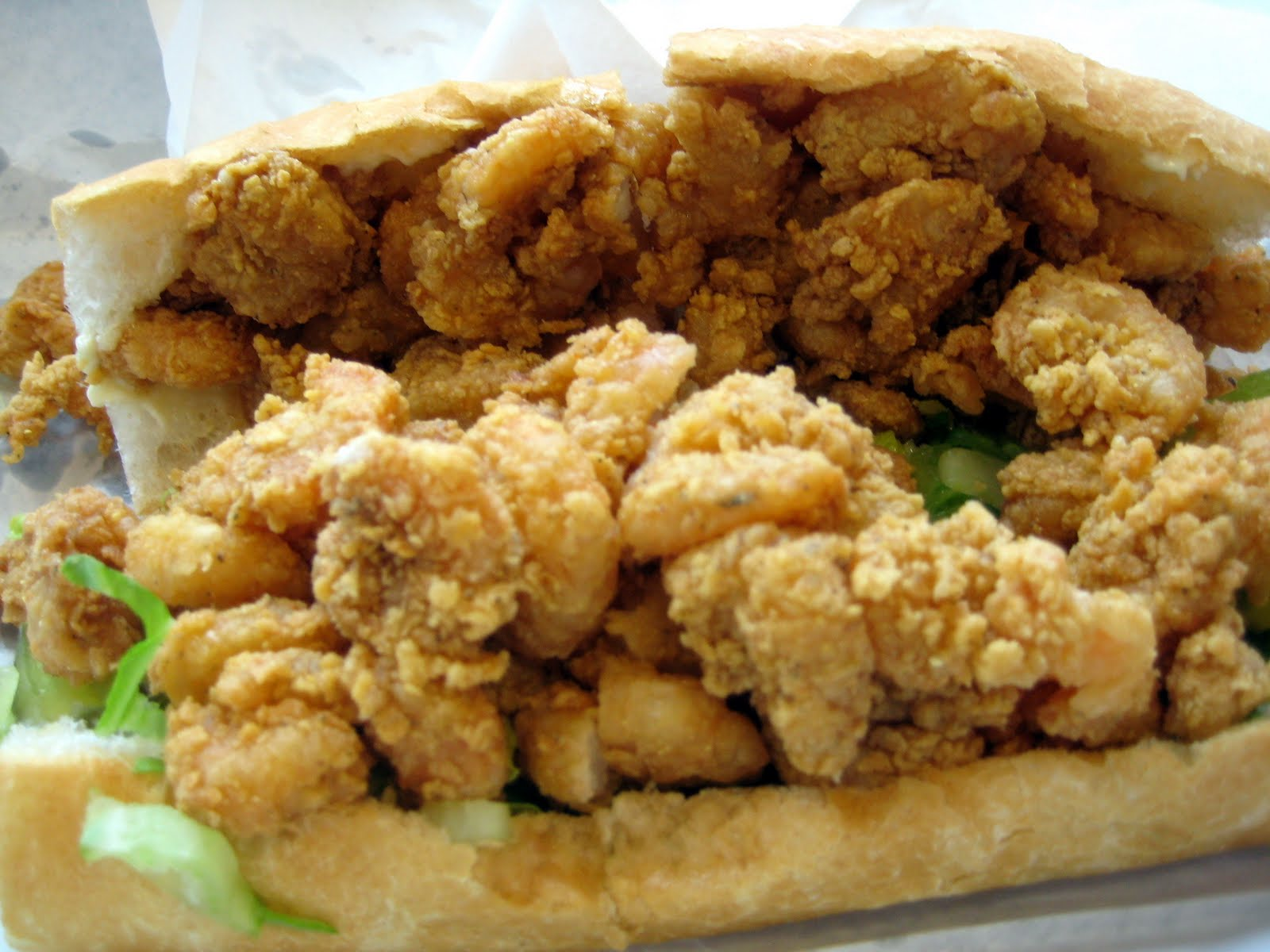 The Fried Shrimp Po-Boy | Beauty live