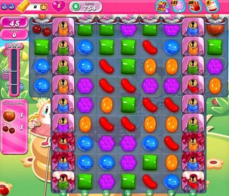 Candy Crush Saga 754