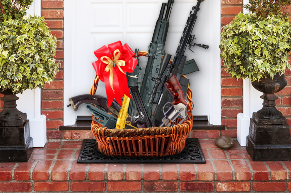 NRA sends gift basket with weapons consolation to relatives of victims of school shooting