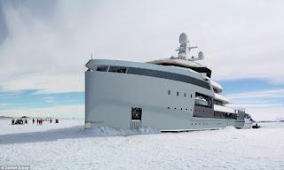 Το πιο cool σκάφος στον κόσμο. Το νέο σούπερ γιότ μπορεί να σπάσει τους πολικούς πάγους και να επισκεφθεί τους πιο απομακρυσμένους προορισμούς του πλανήτη.